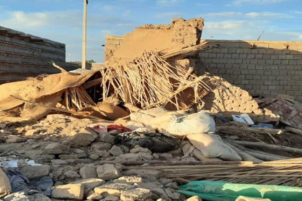 آسیب 2500 واحد مسکونی درمناطق سیلزده سیستان و بلوچستان