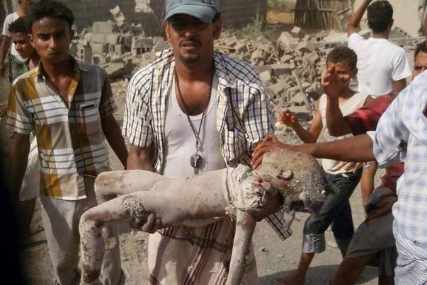 إحصائية جرائم العدوان السعودي الأمريكي على اليمن