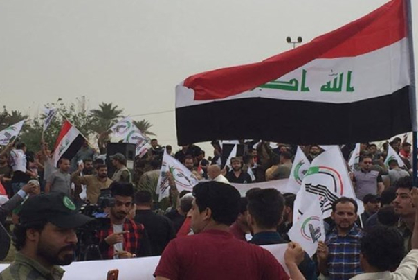 ترکمانهایعراق:در کنار دیگر تظاهراتکنندگان خواهان خروج نظامیان آمریکایی هستیم