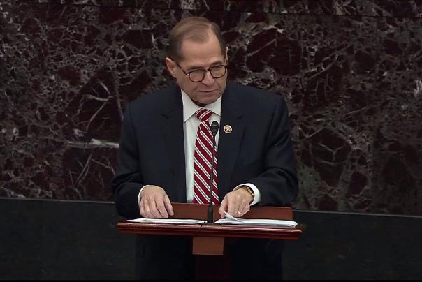 رییس کمیته قضایی مجلس نمایندگان آمریکا: ترامپ نباید در قدرت بماند، حتی یک لحظه