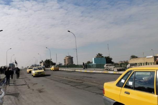 بغداد پروندهٔ خبری اعتراض در عراق کاهش اعتراضات و بازگشایی خیابان های بغداد