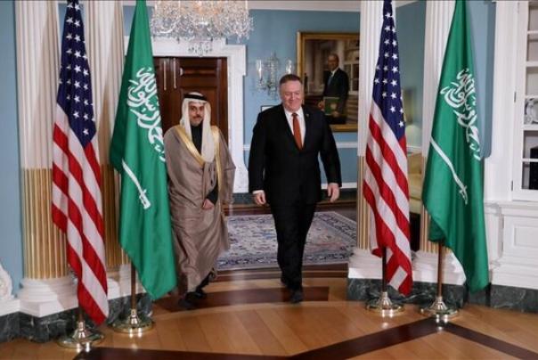 گفتوگوی وزرای خارجه آمریکا و عربستان درباره ایران
