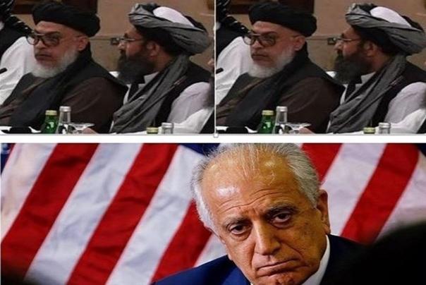 توییت سخنگوی طالبان درباره مذاکره با خلیل زاد