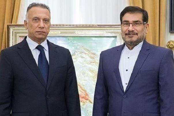 ملاقات دبیر شورای عالی امنیت ملی با نخست وزیر عراق