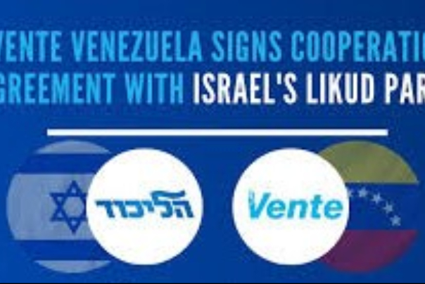 Venezuela%20opposition%20cooperating%20with%20Israel's%20Likud%20party
