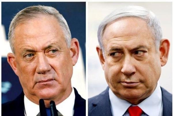 نتانیاهو%20و%20بیگانتز%20در%20جلسه%20کابینه%20رژیم%20صهیونیستی%20درگیر%20شدند