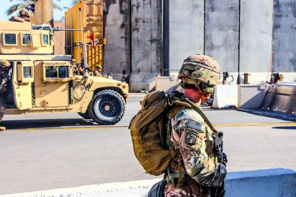 استقرار 2500 نظامی آمریکایی در اطراف سفارت واشنگتن در بغداد