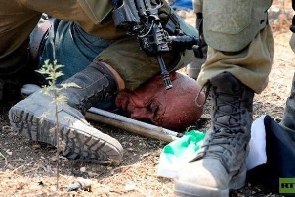 صهیونیستها «جورج فلوید فلسطین» را بازداشت کردند