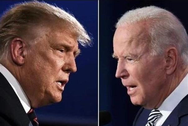 پیشتازی بایدن نسبت به ترامپ در ایالات مهم و کلیدی