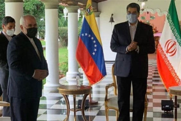 Iranian%20FM%20Meets%20Venezuelan%20President%20Maduro%20in%20Caracas