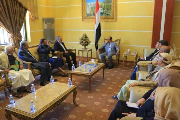 دیدار سفیر ایران با رئیس مجلس شورای یمن