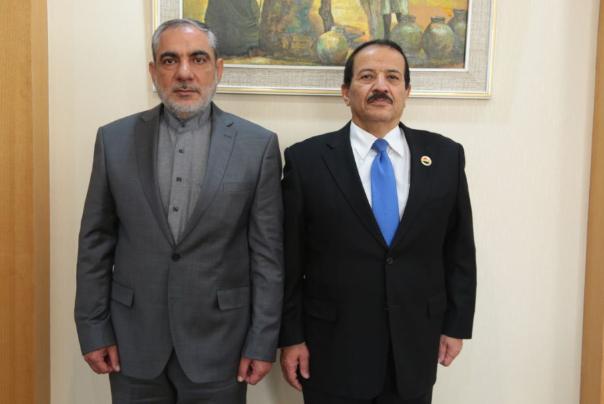 دیدار سفیر ایران در یمن با وزیر خارجه این کشور