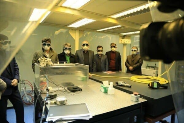 ایران در زمره 5 کشور سازنده لیزر پرتوان در جهان قرار گرفت