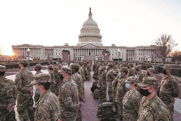 چندرسانهای: واشینگتن؛ پایتخت یا پادگان نظامی؟