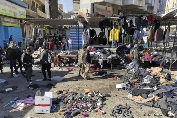 داعش مسئولیت انفجارهای روز گذشته بغداد را پذیرفت