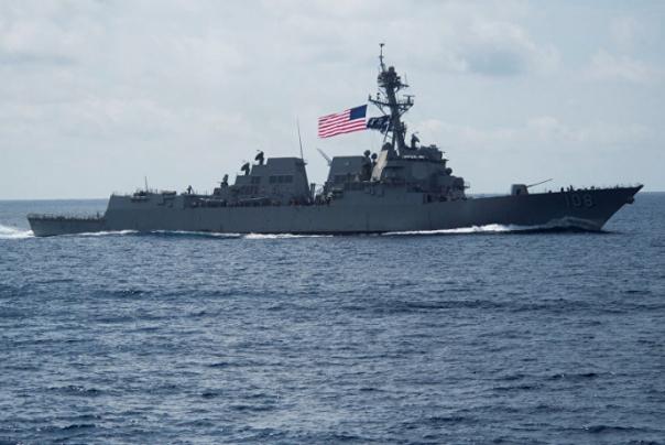 تجاوز ناو آمریکایی به حریم دریایی چین