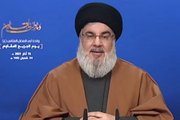 سیدحسننصرالله: لبنان در دل یک بحران واقعی اقتصادی و سیاسی قرار دارد/پیشنهاد ایران برای فروش مشتقات نفتی به لبنان