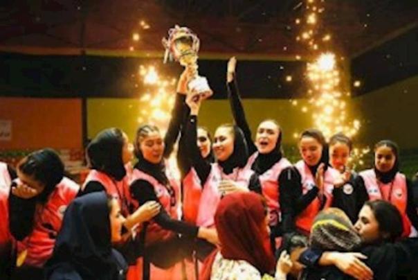 قهرمانی تیم والیبال بانوان مهاجر افغان مقیم ایران