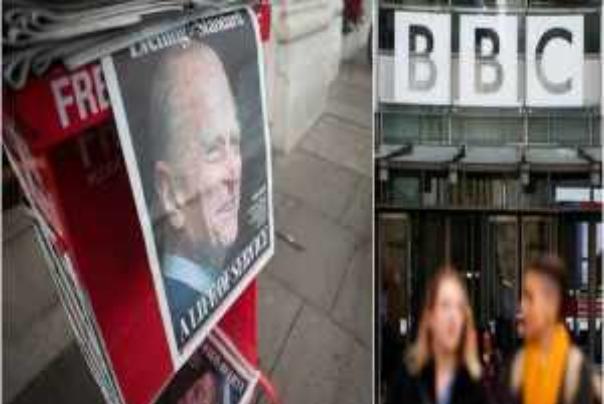 مرگ دردسرساز همسر ملکه برای بی بی سی/100 هزار شکایت ثبت شد