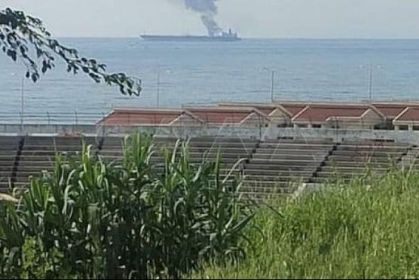הכחשה של התקפה צבאית על מכלית נפט בנמל הבניאס הסורי