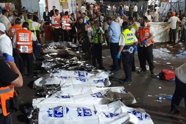 """אסון במירון: 44 הרוגים מדוחק בהילולת הרשב""""י"""