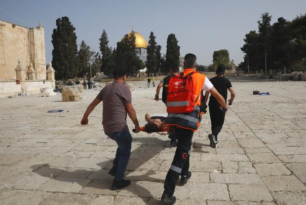 נפגעים מהתקפות הכיבוש באל-אקצה ...