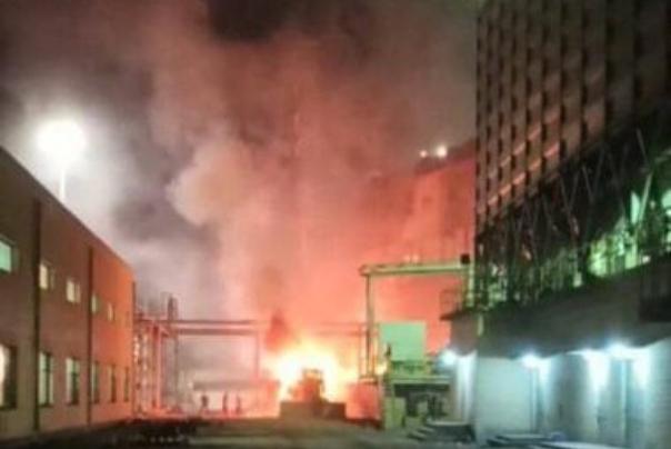 حادثه ی آتش سوزی فولاد زرند ایرانیان، تلفات جانی نداشته است
