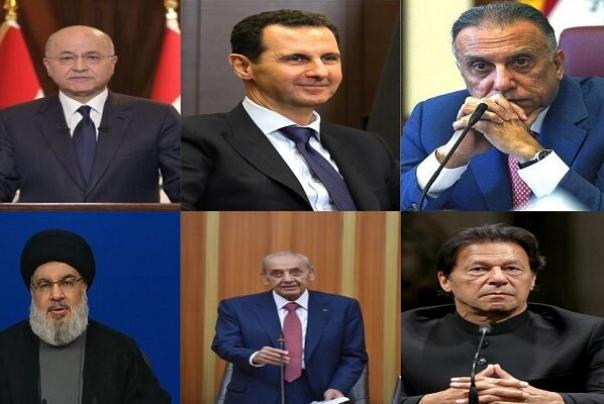 """ברכות לפקידי מדינות שונות לרגל הניצחון של """"ראיסי"""" בבחירות"""
