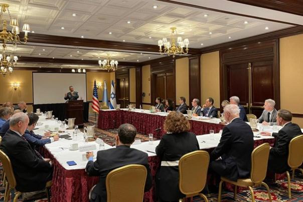 """הרמטכ״ל נפגש בארה""""ב עם בכירים ממכוני המחקר המובילים, מחר הוא יחזור לישראל"""